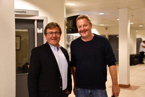 Tor Arne Hauge og Eirik Flatebø er største og nest største eier i Otechos AS som nå har fått solid drahjelp av EU. Arkivfoto
