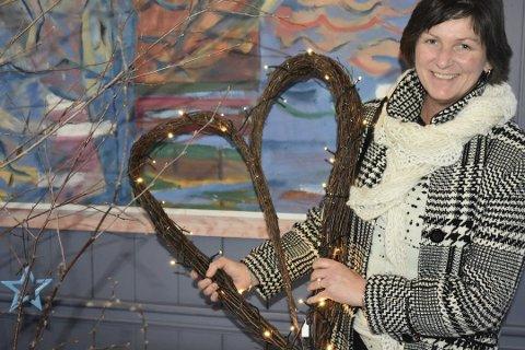 Ann Iren ble kreftfri i 2015. Her er hun på julemarkedet på Borøya samme år.