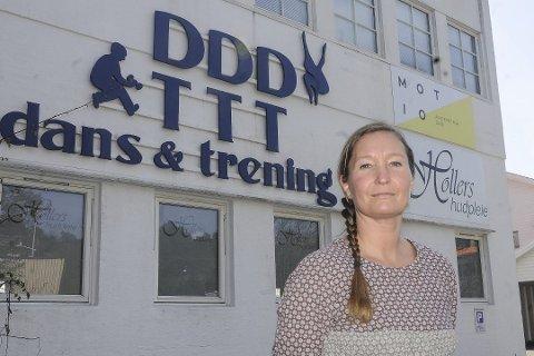 DDD utvider tilbudet sitt. Her representert ved Cecilie Møllergaard.