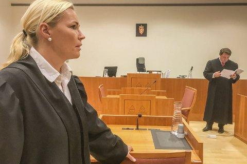 Politiadvokat Vanja Bruvoll krevde fire nye uker i varetekt for mishandlingssiktet risørmann.