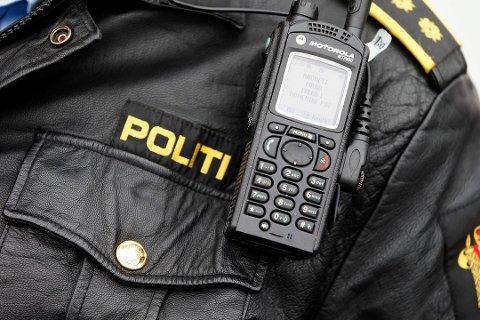Politiet har hatt kontroll på Vegårshei i ettermiddag.