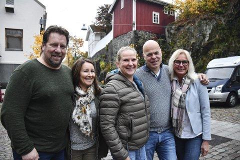 Denne gjengen skal gi deg kultur rett i åra: Frode og Monica Kirkeli, May Zwilgmeyer, Ole Jonas kverndal og May Gunn Stokk.