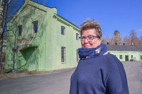 Daglig leder Ellen M. Olsen overtok produksjonsbedriften på Songe etter faren Tore Olsen.