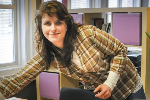 Carolina Moland er blant dem som ønsker en fast lærerjobb på Vegårshei skule fra kommende skoleår. Hun er nå kultursekretær i Gjerstad kommune. Før det var hun museumspedagog på Næs Jernverksmuseum. Arkivfoto