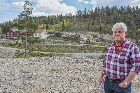 Waaland: Gunnar Oddne Waagestad må nå søke om å få ettergodkjent terrenginngrepene han har utført uten å søke. Arkivfoto