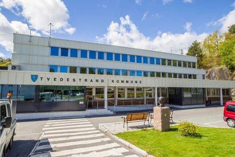 Ny konsertarena: Førstkommende onsdag blir taket på kommunehuset i Tvedestrand konsertarena for Kystkulturuka.