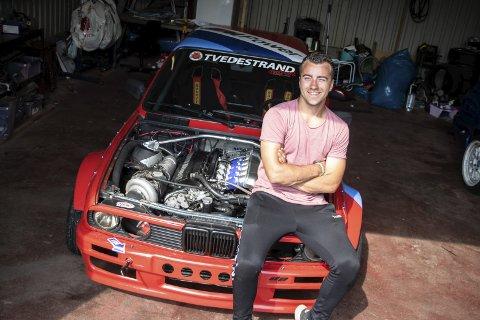Joachim Haugenes reiste i kveld inn til Oslo Motor Show, etter å ha fått en helt spesiell invitasjon.