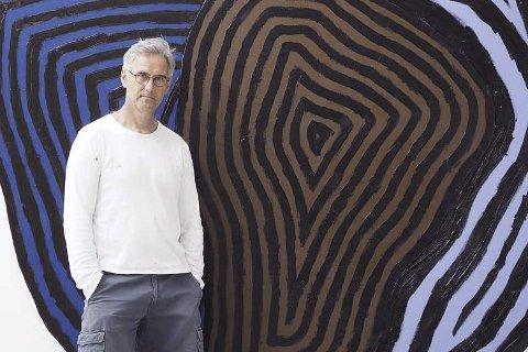 Stiller ut: I morgen søndag er Thomas Hestvold klar for utstilling i Galleri Fjøset i Søgne. 7. september stiller kunstneren fra sandøya ut i Kristiansand Kunsthalle. Arkivfoto