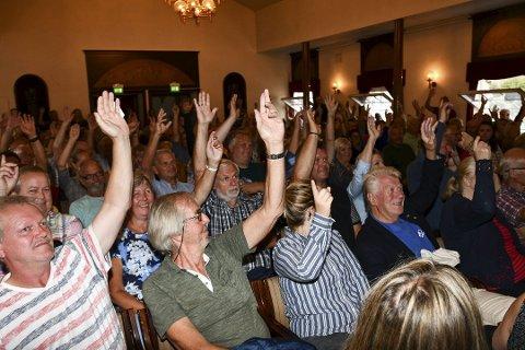 Stort engasjement: Tvedestrandsposten har fulgt valgkampen tett. Blant annet arrangerte avisen debattmøte på rådhuset 28. august.
