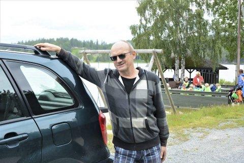 Reagerte: Leder i veilaget Kurt-Tore Aas ble oppgitt da Åmli kommune nektet å gi tilskudd til Damvegen i fjor, selv om det er et veldig populært friluftsområde her. Nå har velforeningen søkt, og fått et engangstilskudd på 5.000 kroner. Arkivfoto
