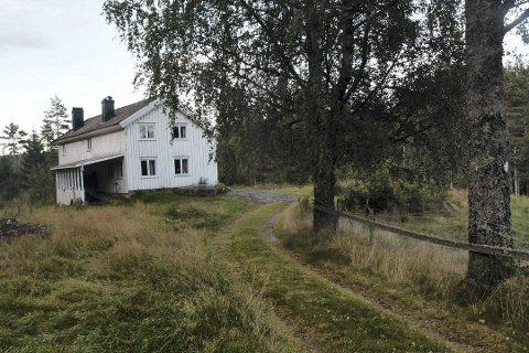 Gresskledd kjørevei: De nye eierne, som kjøpte småbruket for drøyt 2,1 millioner kroner, ønsker å bosette seg på eiendommen. Arkivfoto