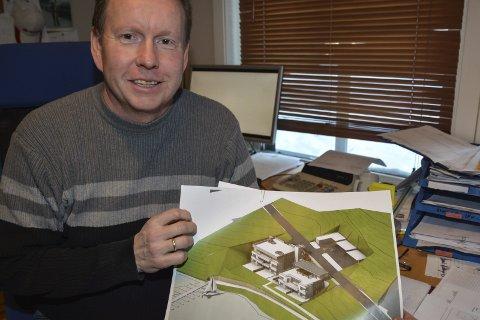 Boligprosjekt: Svein Løvdal har trukket seg ut av planene om 16 leiligheter på Songe. Arkivfoto