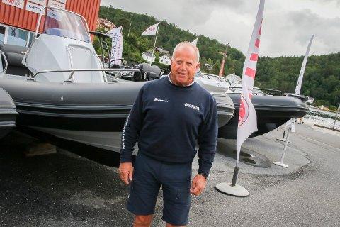 Daglig leder ved Fjordsenteret Willy Thorbjørnsen er også daglig leder i det nyoppførte selskapet Sagesund Brygge AS.  Arkivfoto