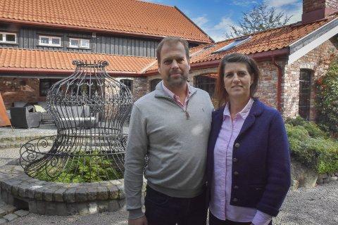 Vivesøl: Ailin og Conrad Guttormsen har bygd opp Vivesøl gård til et fantastisk sted med blant annet selskapslokaler. Nå legger paret frem sine videre planer for den store eiendommen som ligger både i Arendal og Tvedestrand i en delingssøknad som nå kommer opp til politisk behandling. Arkivfoto
