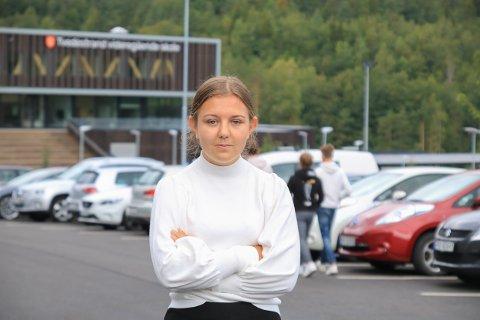 Engasjert: Lina Birgitte Jørgensen har ikke tenkt til å gi seg med det første. Kanskje blir det streik hvis situasjonen ikke bedrer seg.