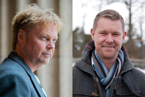 DISKUTERER: Tidligere politietterforsker Jørn Lier Horst og Novemberfilm-leder Kjetil Johnsen diskuterer Marianne-saken i en egen vodcast på TV2 Sumo.