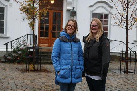 Kommuneoverlege Ingeborg Sundsdal Steinsrud og vaksinekoordinator May Elin Aabak.
