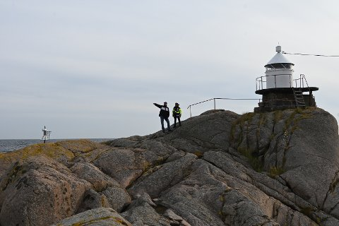 Kvaknes-lykta utenfor Kilsund er slokket for godt. Foto: Skibsaksjeselskapet Hesvik