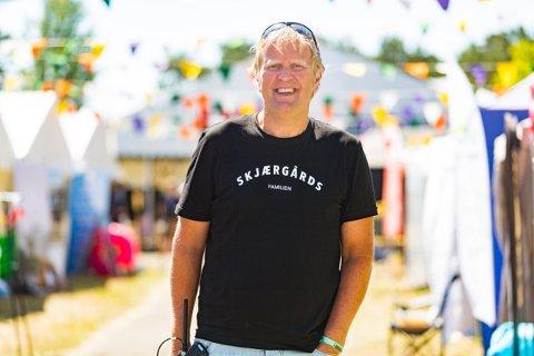 Jarle Storebø har vært sentral i arbeidet med å bygge opp Skjærgårds Music & Mission på Risøya til Nordens største kristne musikkfestival. Nå går han av som daglig lederi Stiftelsen Skjærgårdsgospel.