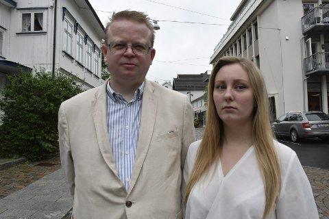 Silje Flaten Haugli og Yngve Monrad