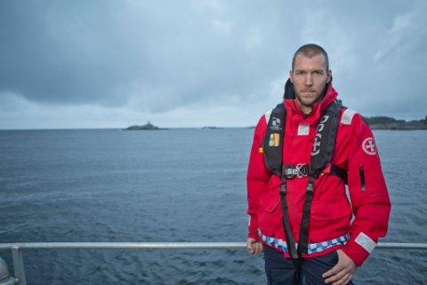 Torjus Sundsdal fra Songe er kaptein på redningsskøyta Inge Stensland, og var blant de som bisto politiet da meldingen om likfunn i Lyngør, kom.