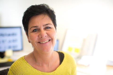 Salgsleder Helena Guttormsen i LSE Byggesystemer har travle tider.