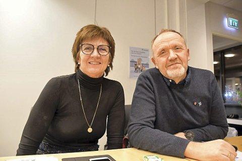 Reagerer: Ordfører Marianne Landaas og varaordfører Vidar Engh hamret løs på påstandene fra Xtra-lista og KrF, som blant annet går misbruk av personsensitiv informasjon.