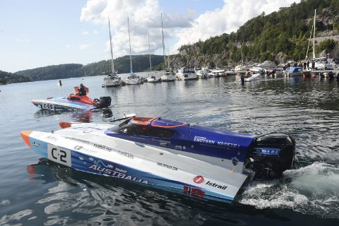 Høstregatta: Lørdag 2. oktober skal Tvedestrand Racing Klubb arrangere båtrace. Arkivfoto