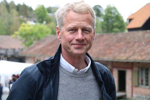 Museumsdirektør Knut B. Aall er godt fornøyd med at de kunne invitere til det første høstmarkedet etter koronapandemien.