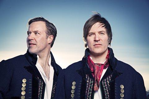 Festivalaktuelle: Ole (t.v.) og Knut Aastad Bråten, eller Brøtagutadn, om du vil, skal spille under både Ultimafestivalen i september og Oslo World Music Festival i november.