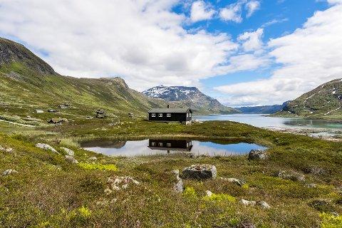 Da denne hytta kom for salg var det mange som drømte om å få drømmen oppfylt.Foto:Inviso/Tor Solberg