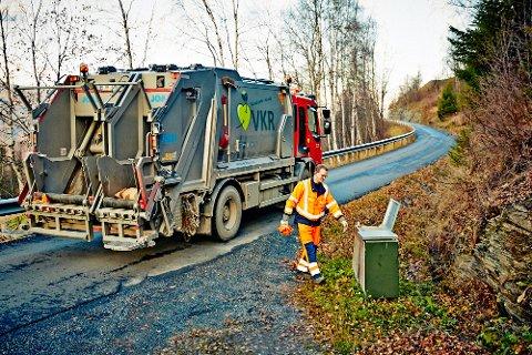 Valdres kommunale renovasjon (VKR) kjører søppel i egen regi. Det sikrer kontinuitet, som alle parter er tjent med.