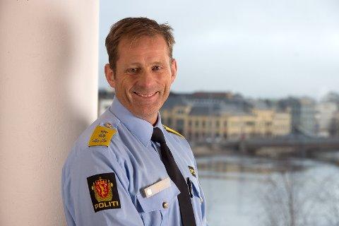 – Jeg er glad for at innbyggerne i Innlandet har tillit til politiet, sier politimester Johan Brekke.