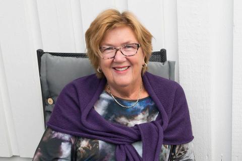 Berit Brørby er leder i Oppland idrettskrets. Foto: Per Heieren / Ringerikes Blad