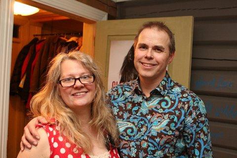 Åpnet huset: Heidi og Rune Glimsdal har åpnet huset sitt for mange kjente artister i mange år.
