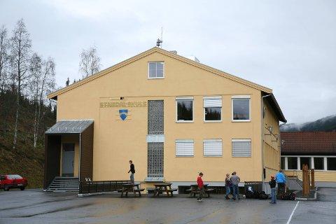 Trafikksikkerhetstiltak: Kulturskoleområdet på Etnedal skule skal få tryggere veg for fotgjengere.