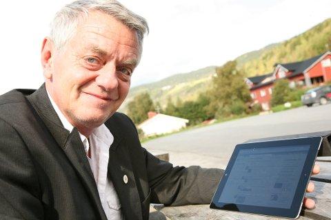 Olaf Diserud var en av de med høyest inntekt i Nord-Aurdal i fjor.