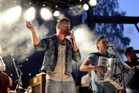 26 konserter: I løpet av sommerhalvåret spiller Staut 26 konserter rundt om i Norge. Medlemmene i det populære live bandet har en travel helg i vente. (arkivbilde)