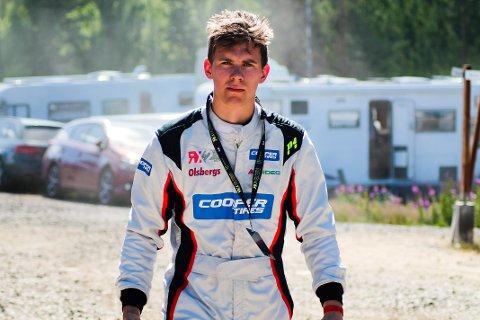 Opplevelse: - Det var en stor opplevelse å kjøre VM-runde, forteller Petter Leirhol.