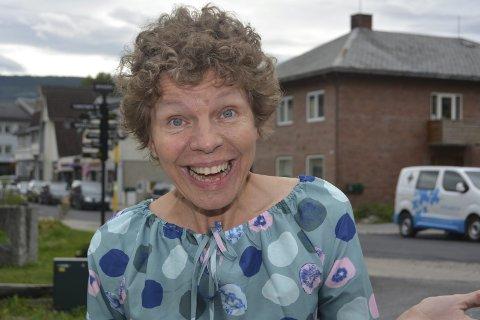Sterk: Anne Kari Røn har vært gjennom et tøft år etter stamcellebehandling i Russland. Nå begynner hun endelig å se resultater