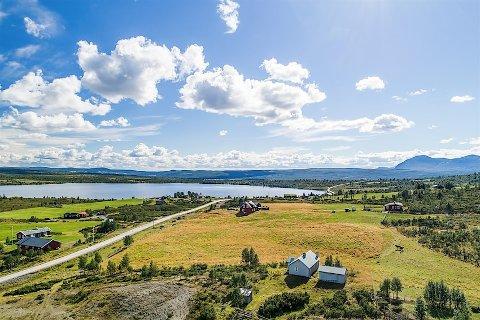 Sjelden: Den nylig solgte eiendommen på Rensenn er av de sjeldne. Det kan gå både 10 og 20 år mellom hver gang det er hytter for salg i området.