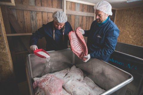 Ekteparet Svien ønsker å bli en ledende levrandør av kvalitetskjøtt.
