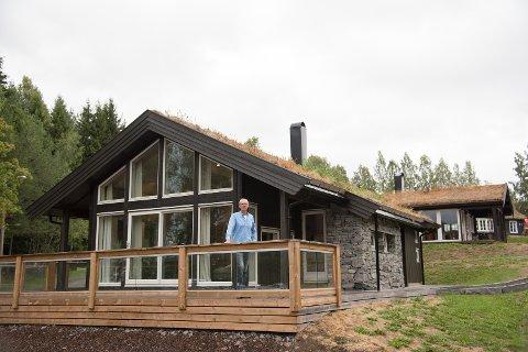 Tomte- og hyttemesse: Olaf Olstad, Norsk Hyttesenter.