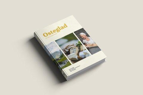 Ostebibel: Boka «Osteglad» kommer for salg i neste uke.