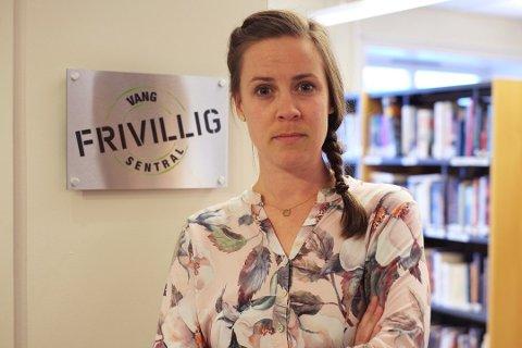 Opprop: Vang Frivilligsentral har skrive under oppropet, her ved leiar Marte Tangen.