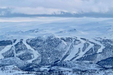 Åpnet: Lørdag åpnet alpinanlegget i Raudalen.