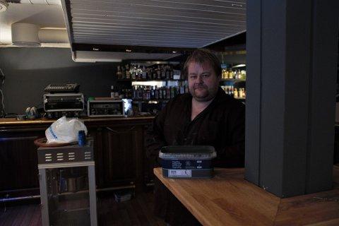 Frank Johansens plan om å gjenåpne Parken med bar og restaurant er fortsatt like levende, forteller han.