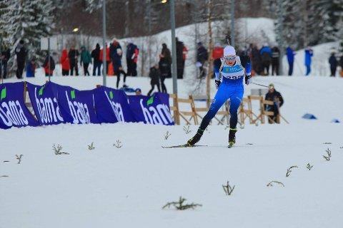 Seiret i normaldistanse: Harald Øygard fra Skrautvål IL/Team Kjelstad.