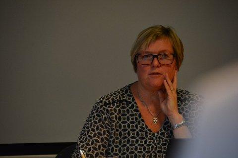 Inger Torun Klosbøle har på ingen måte gitt opp troen på fortsatt drift av Schibsteds kundesenter på Fagernes.