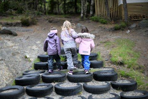 STORT SLUK: Barnehagedrift koster naturligvis mye penger. I Valdres hadde man i fjor netto driftsutgifter pålydende totalt 117 millioner kroner til dette formålet.